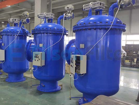self cleaning filter manufacturer