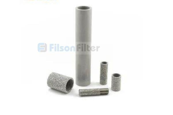 sintered metal tube