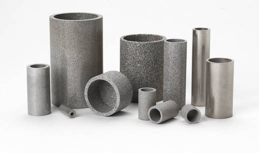 Sintered porous stainless steel filter