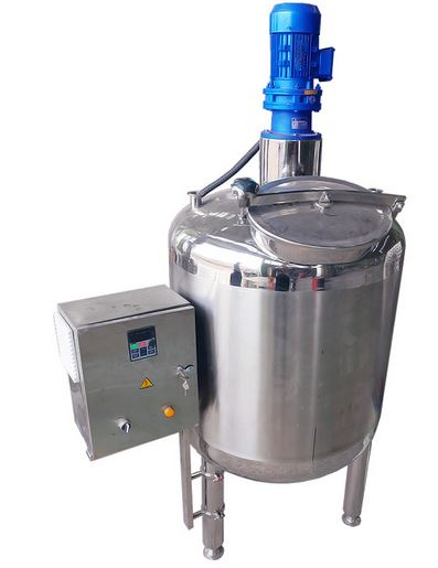 Stainless steel stirred tank