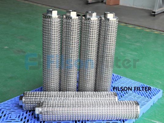 high pressure stainless steel fibre felt filter