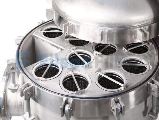 multi bag filter vessel