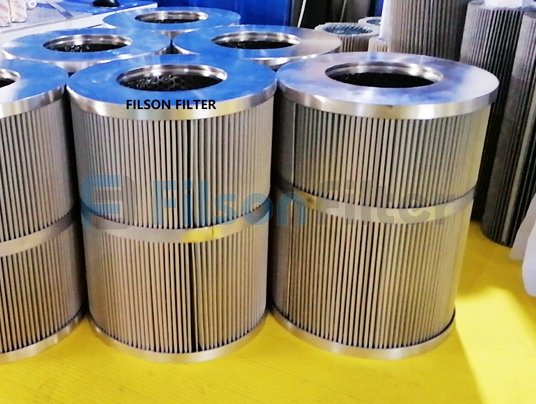 pleated stainless steel water filter cartridge