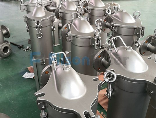 single bag filter vessel factory