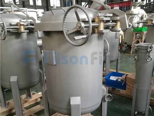 stainless steel filter housing bag filter housing supplier