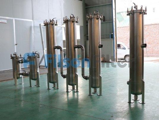 stainless steel filter housing cartridge filter housing