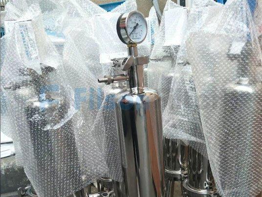 stainless steel filter housing sanitary filter housing