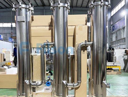 stainless steel industry cartridge filter housing